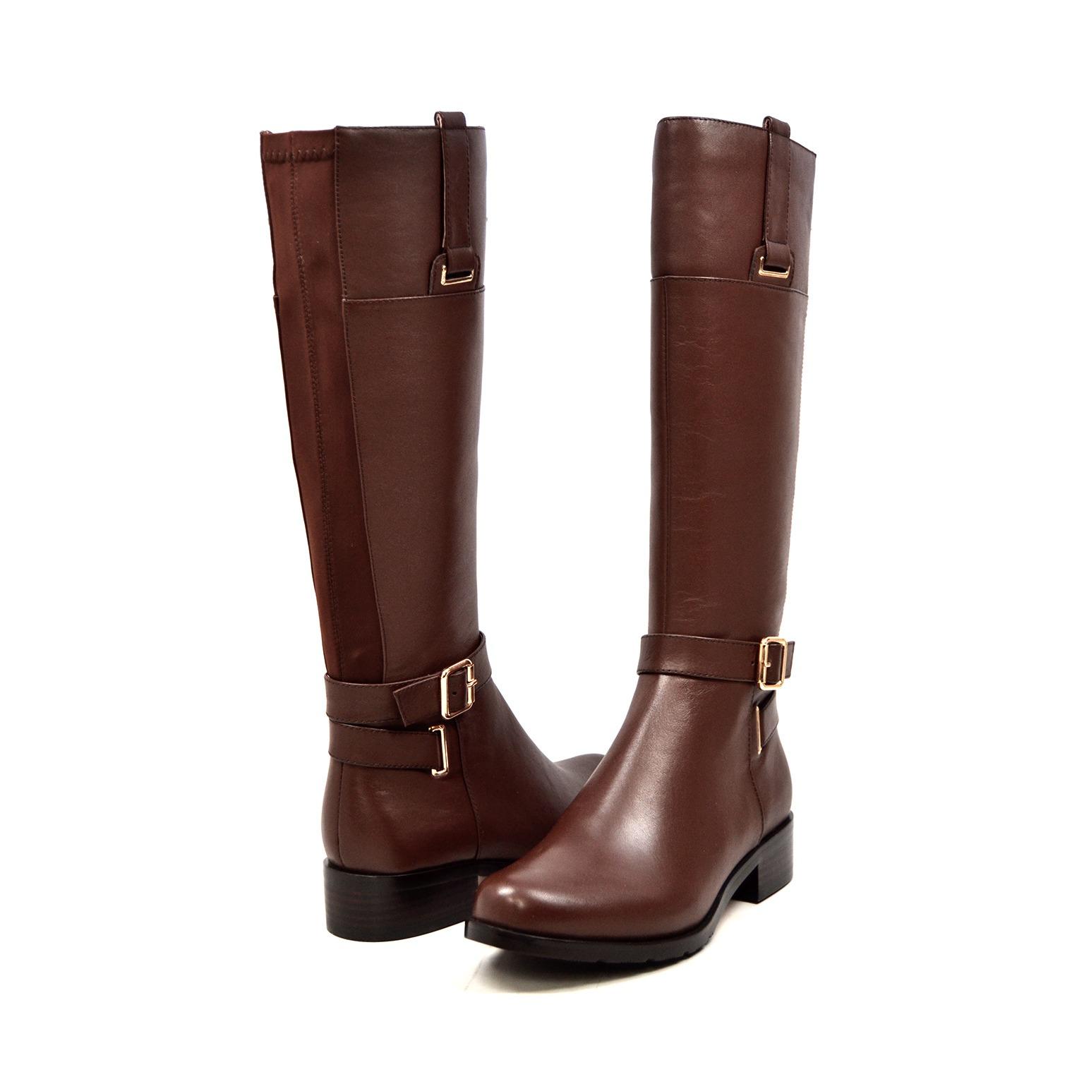 Bodycon dress knee high boots narrow calves like chadwicks